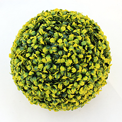 Artificial Topiary Ball C021 Yellow